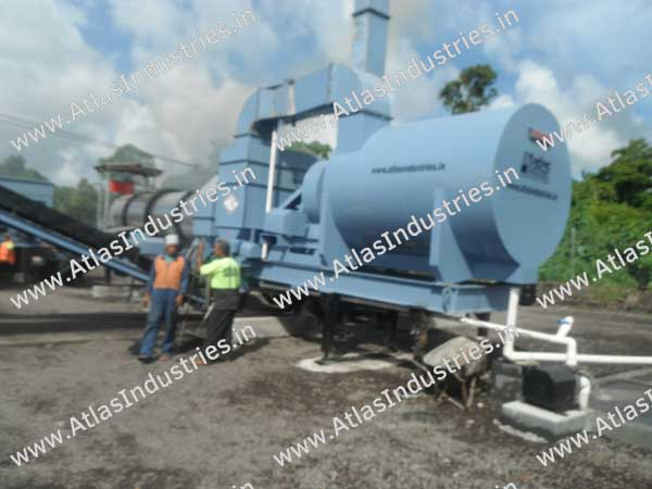 mobile asphalt plants