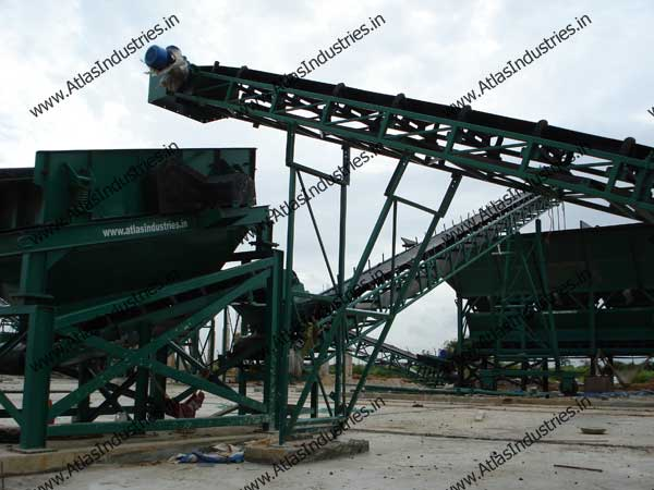 stationary concrete plant