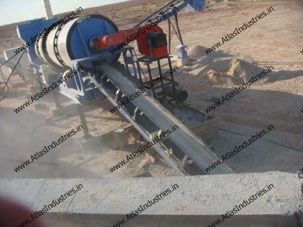 asphalt mixing plants in Libya