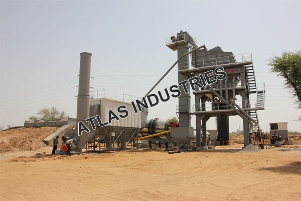 working of asphalt mixing plant Jaipur India