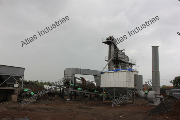 Supplier asphalt batch mix plant 160 tph in Kalyan, India