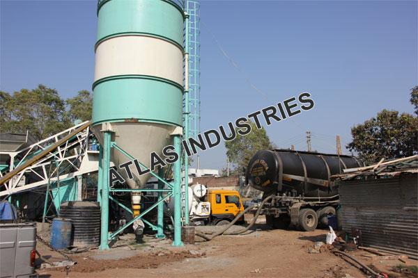 Concrete Batching Plant 30 M3 With 60 Tons Cement Silo