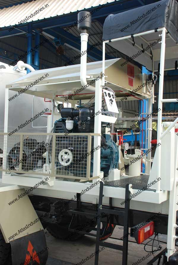 bitumen sprayer manufacturer India