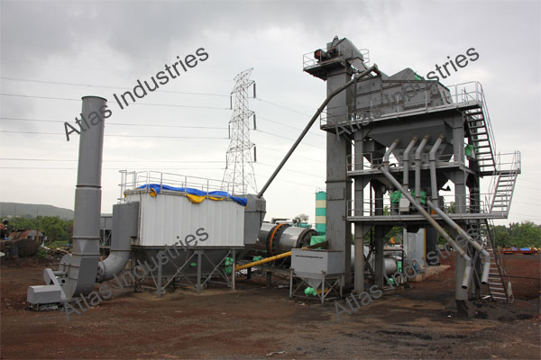 Manufacturer of asphalt batch mix plant 160 tph in Kalyan, India