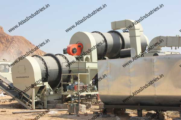 double drum asphalt plants