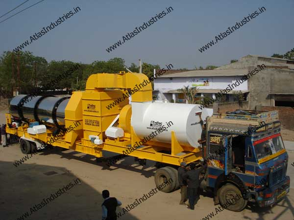 mobile drum mix plant India