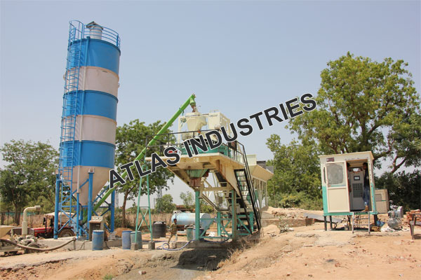 Shop mobile concrete mix plant in Chaapi, India