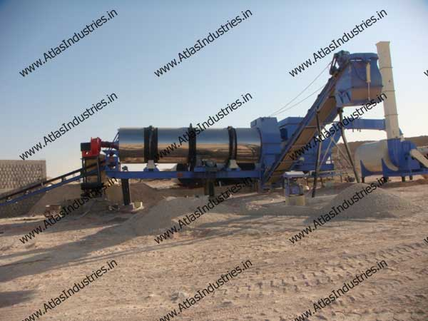 asphalt mix plant in Libya