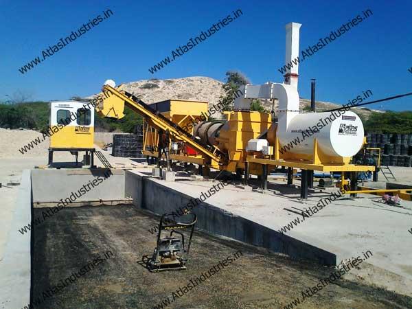 portable asphalt mix plant manufacturer