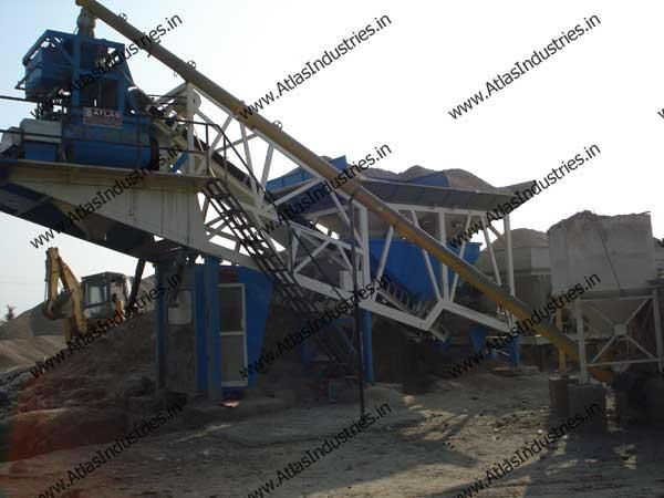 concrete mixing plant India