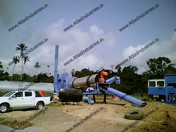 asphalt making machinery