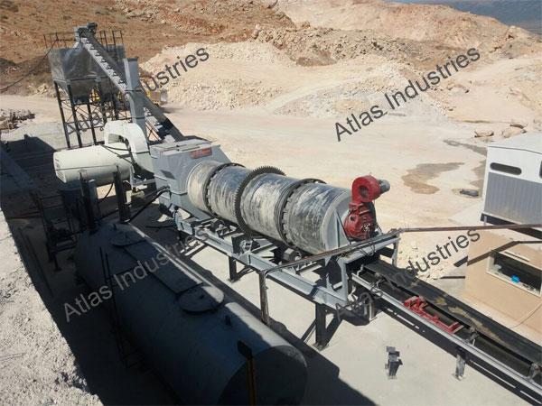Price asphalt drum mixer in Lebanon