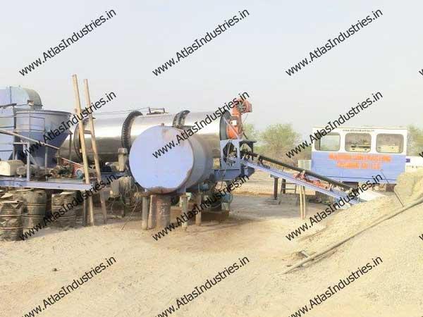 Indian supplier of continuous asphalt plant
