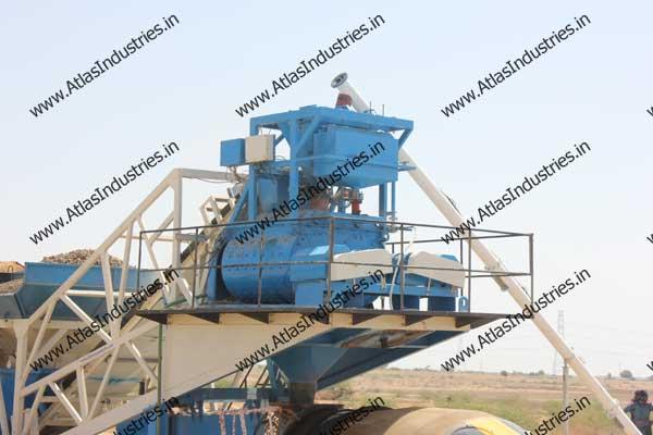 mobile concrete batch mixer plant