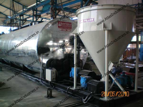drum type asphalt plant