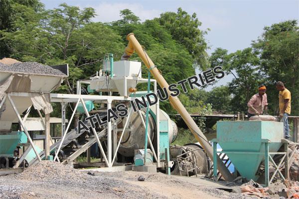 Manufacturer of portable concrete plant near Mehsana
