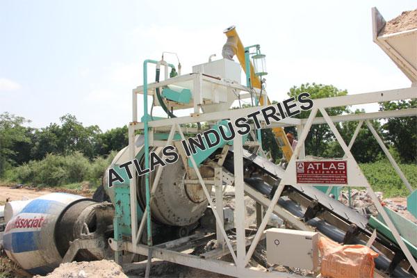 portable concrete plant manufacturer and supplier Mehsana