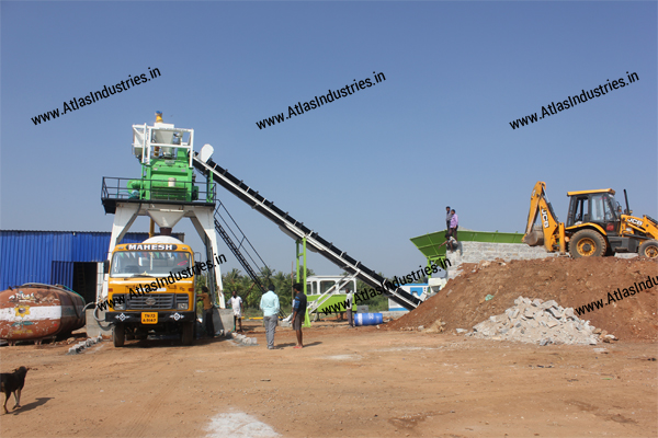Stationary concrete plant supplier