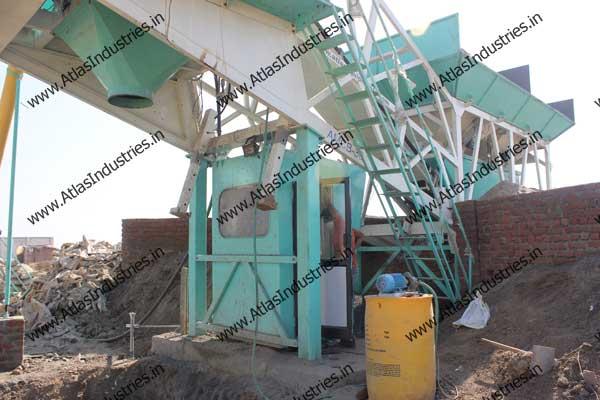 portable concrete batch plant exporter