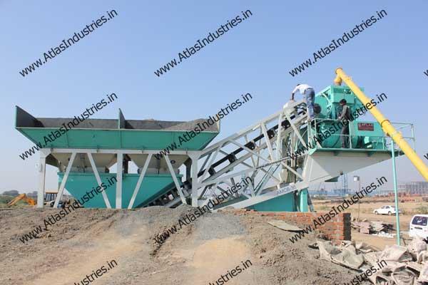 portable concrete batch plant manufacturer India