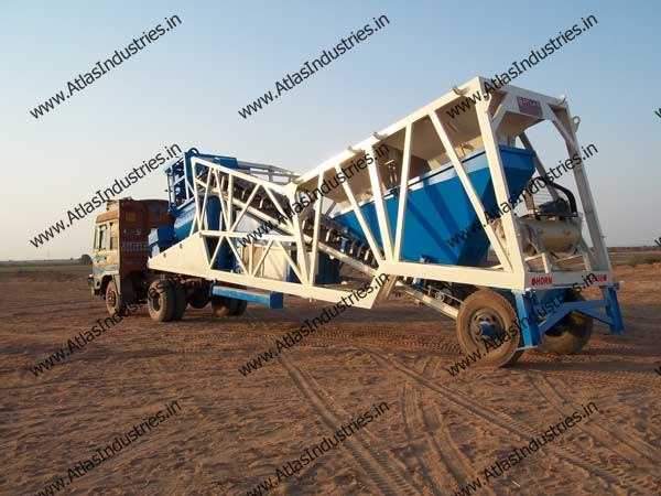 mobile ready mix plant