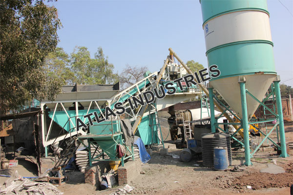 Mobile concrete batching plant cost