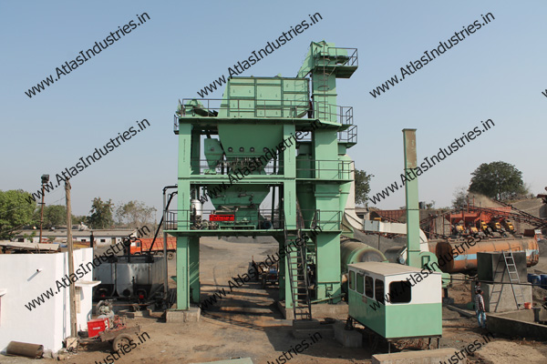 Asphalt Batch Plant Near Ankleshwar India Atlas Industries