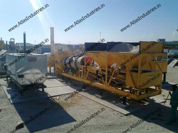 portable hot mix plants manufacturer