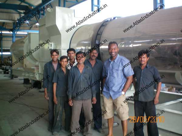 drum type asphalt plant exporter