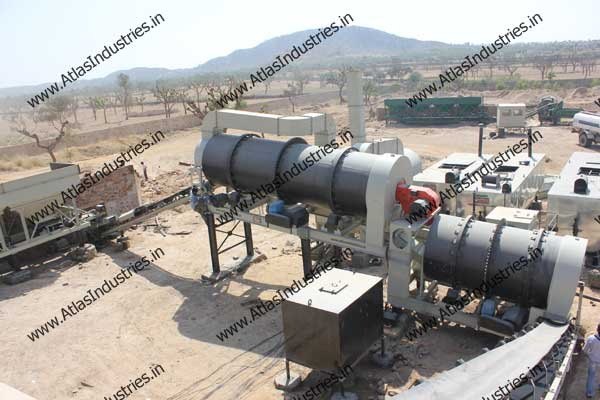 double drum type asphalt mixing plant manufacturer