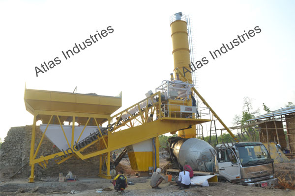 45 m3/hr. mobile concrete batching plant cost Myanmar