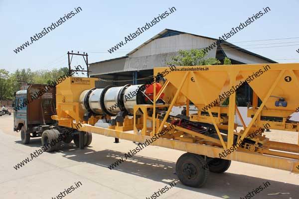manufacturers of portable asphalt drum mixers