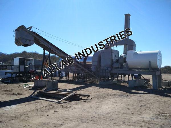 Mobile asphalt mixer Botswana