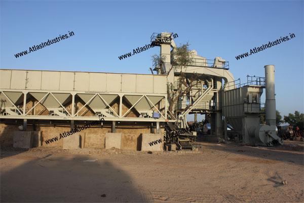 asphalt batch mix plant exporters india