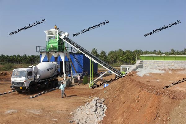 Stationary concrete plant India