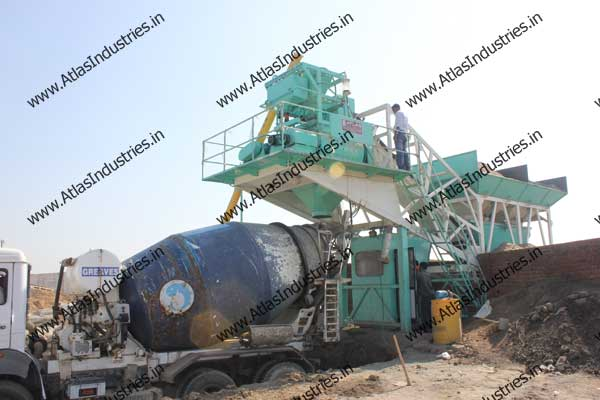 portable concrete batch plant supplier