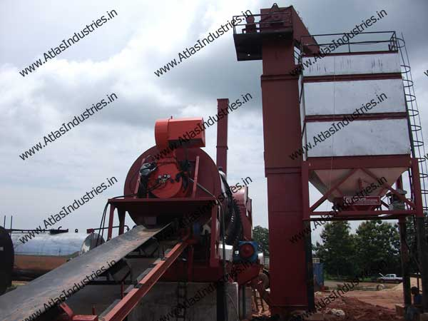 Hot mix plant exporter from India