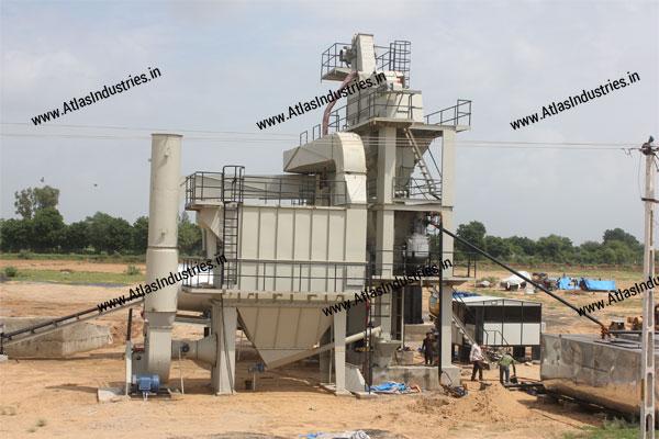 asphalt batch mix plant manufacturers India