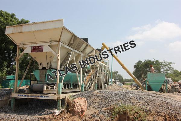Portable concrete plant price Mehsana
