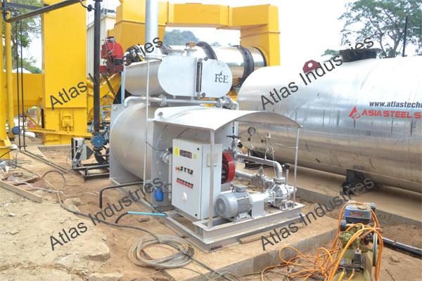 Supplier 80 tph asphalt batch plant in Myanmar