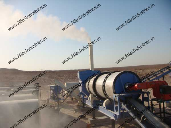 Combined Drum Mix And Wet Mix Plant Installed In Libya