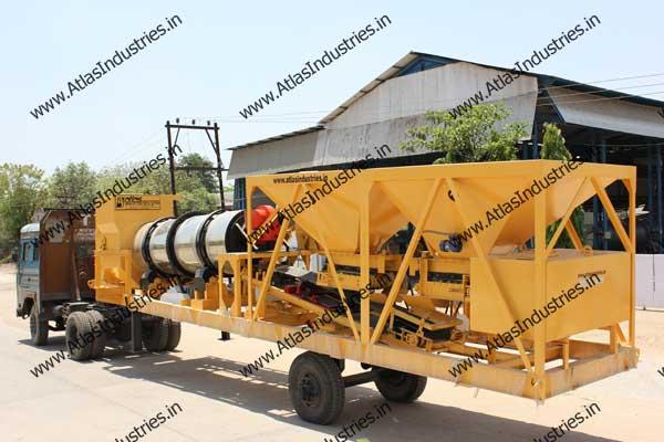 portable asphalt drum mixers exporters