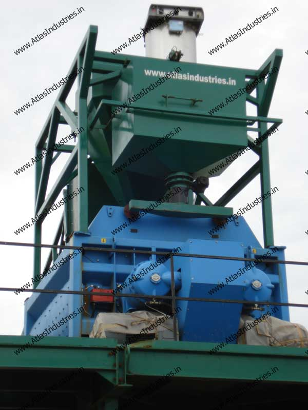 stationary concrete mix plant
