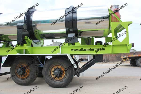 portable hot mix asphalt plants