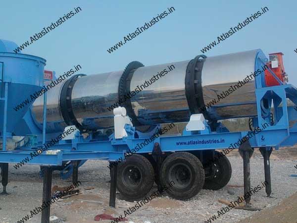 continuous asphalt mix plant exporters