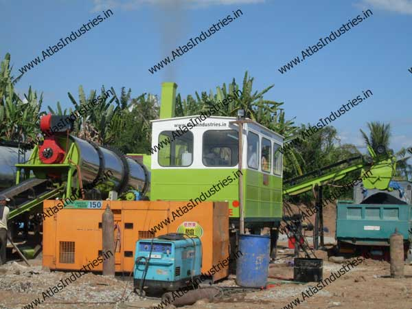 asphalt mix plant exporters in India