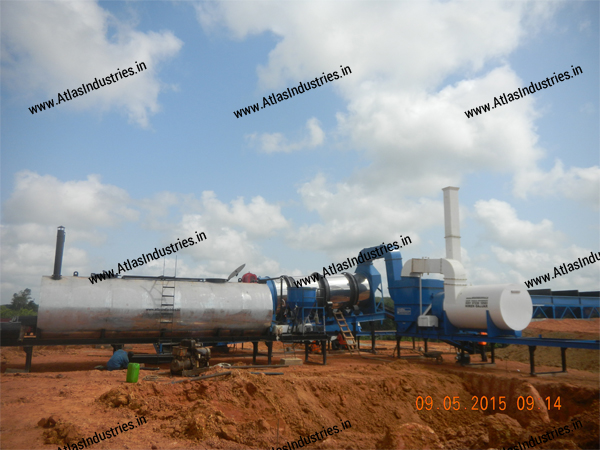 counterflow asphalt mixing plant India