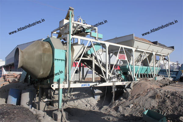 portable concrete mixer exporter