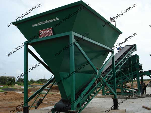 stationary concrete equipment