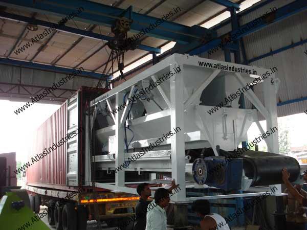 concrete mixer exporter